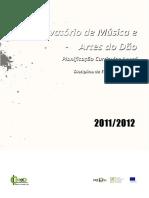 Plano Curricular Anual CMAD