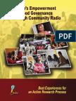 Women's Empowerment and Good Governance Through Community Radio