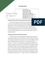 tutor case study 331