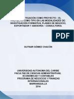 PROYECTO DE INVESTIGACIÓN Archivo