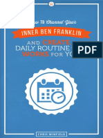 Channel Your Inner Ben Franklin Daily Routine eBook