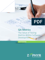 QA Metrics the Value of Testing Metrics Within Software Development (1)