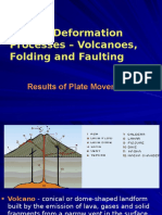 g OodVolcanoes Folding Faulting