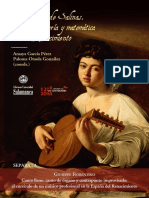 6. Giuseppe Fiorentino - Canto Llano, Canto de Órgano y Contrapunto Improvisado El Currículo de Un Músico Profesional en La España Del Renacimiento