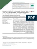 2014 - Damage Identification-Modal Curvature