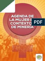 Agenda de la mujer en contextos de minería