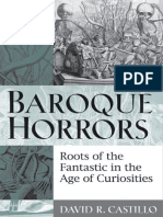 David R. Castillo-Baroque Horrors_ Roots of the Fantastic in the Age of Curiosities-University of Michigan P