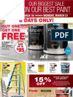 Seright's Ace Hardware Biggest Sale on our Best Paint