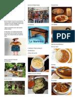 Comidas  Tradicionales de Guate