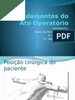 Fundamentos Do Ato Operatório