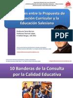 Similitudes entre la Propuesta de Adecuación Curricular y la Educación Salesiana