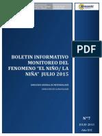 BOLETIN INFORMATIVO 004 MONITOREO FEN JULIO2015_R.pdf