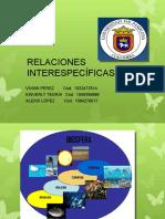 RELACIONES-INTERESPECÍFICAS-Diapositivas