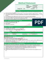 SCAFFOLDING Method Statement Fv2
