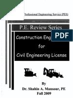 Contruction PES