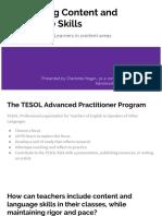 tesol app presentation