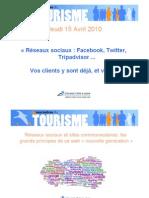 Reseaux Sociaux Et Tourisme