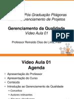 Gerencia Qualidade Slides Video Aulas 01