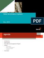 06 JosephSeila DataGovernanceatDevonEnergy CalgaryDMS 2013 - Copy