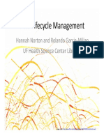 Data Lifecycle Management- RCD 2012