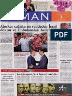 2009 - Gazete Mansetleri -  Zaman