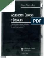 Acueductos Cloacas y Drenajes Alvaro Palacios Ruiz
