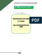 Ergonomie Site Web Les Contraintes Du Web