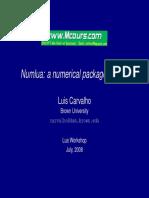 Numlua Anumerical Packagefo Lua
