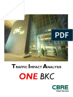 Traffic Impact Analysis-OnE BKC