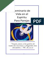 Seminario de Vida en El Espiritu para Parejas