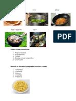 5 Metodos de Coccion, 5 Normas de Higiene en La Preparacion de Alimentos