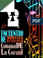 XXVII Encuentro de Música Religiosa ciudad de A Coruña