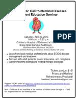 Richmond EOE Patient Seminar 416 Flyer