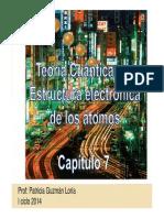 teoría Cuántica y Estructura Electrónica