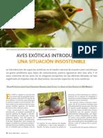 Aves Exoticas Introducidas