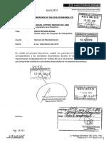 Informe de Semana de Representación, Merino de Lama (Enero, 2016)