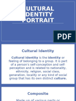 cultural identity portrait