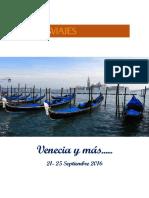 Venecia 2016 - Programa de Viaje