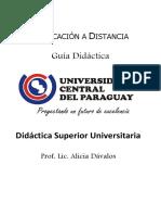 Didáctica Superior Universitaria - Unidad II