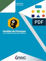 Gestión de Procesos y Procedimientos en la Administración Pública