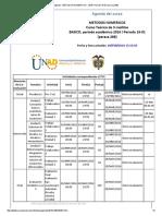 Agenda - Metodos Numericos - 2016 i Periodo 16-01 (Peraca 288)