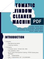 Automatic Window Cleaner Machine