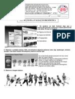 Avaliação Diagnóstica - Refacção - 6º Ano