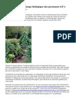 « Conseils de jardinage biologique des personnes très bien informées »
