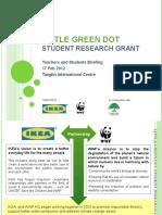 LITTLE GREEN DOT TeaAchers Briefing Slides - 2012