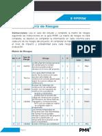47- Modulo 6 Ejercicio Matriz de Riesgos
