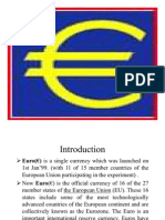 Euro Currency Market PCD