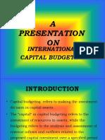 Intl. Capital Budgeting, Banshi