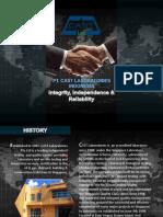 Company Profile PT. CAST Laboratories Indonesia