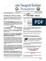 NYK Newsletter 3/2016                      Publisher